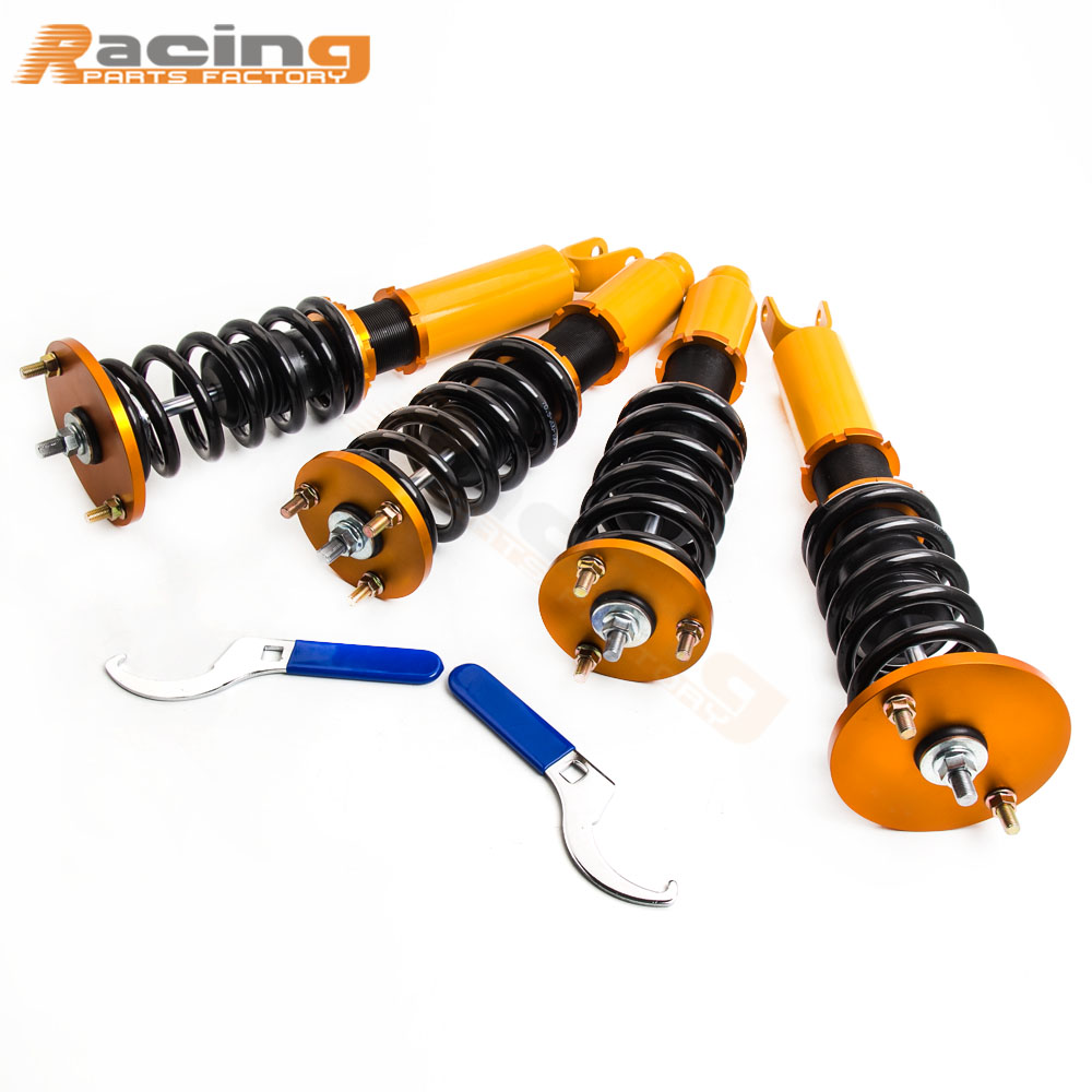 Coilover Suspenion For Honda Accord 90 97 Adjustable Height Suspension Shock Absorbers Acura Cl 99 Coil Spring Over Struts Dampering