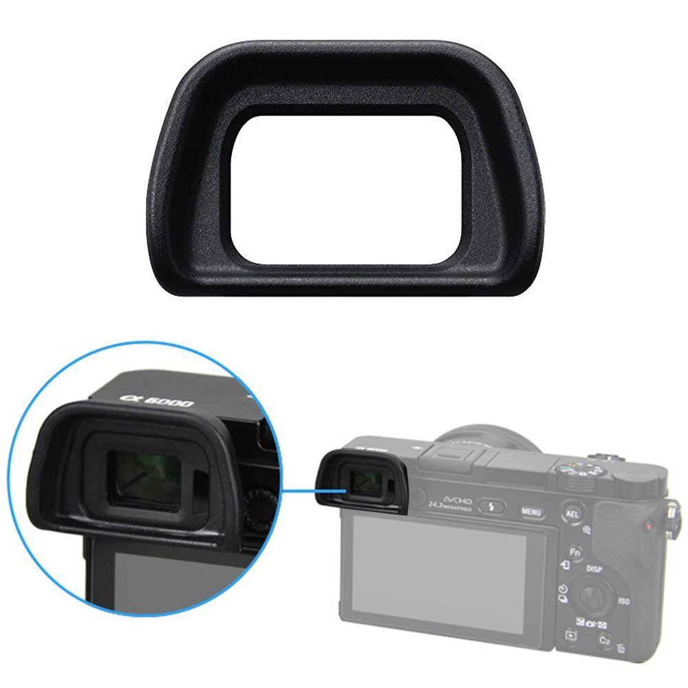 FDA-EP10 Viewfinder <font><b>Eyecup</b></font> Eye Piece Eye Cup For <font><b>SONY</b></font> NEX-6 NEX-7 A6300 <font><b>A6000</b></font> ILCE-6000 Cameras image
