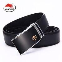 Mens Belts Automatic Buckle 2017 High Quality Genuine Leather Man Belt Luxury Desugener Belts Men Foemal