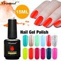 Vrenmol 1pcs 15ml  Gel Polish Soak Off Semi Permanent Gitter Gel Nail Polish UV Lamp for Nails 2017 Hot Sale nail design