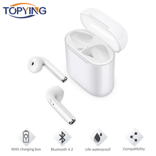 i9 Wireless Bluetooth Earphones Sport Running Headphone True Earbuds Stereo for iOS Android Phone