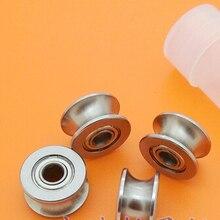 20 штук U624ZZ U624 U Groove радиальный подшипник 4x13x7 мм для 5.5 мм вал углеродистой стали