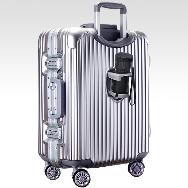 26 INCH  2226# PC aluminum frame, the cup frame rod universal braking wheel travel luggage box one generation #EC FREE SHIPPING