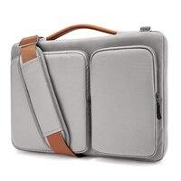 Laptop Shoulder Bag for MacBook Air 13 15.6 inch Display 13 MacBook Pro USB C, Waterproof Shockproof Notebook Sleeve