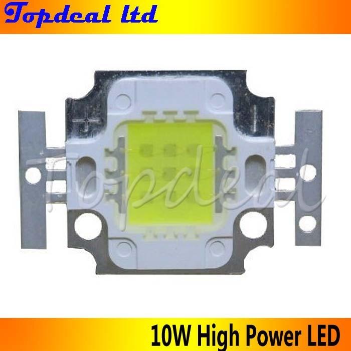 10 Вт высокое Мощность LED холодный белый Цвет 6000-7000 К