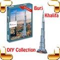 Новогодний подарок дубай башни бурдж-халифа супер высокое здание 3d-головоломка DIY головоломки подарок сувенир дома роскошные украшения игрушки