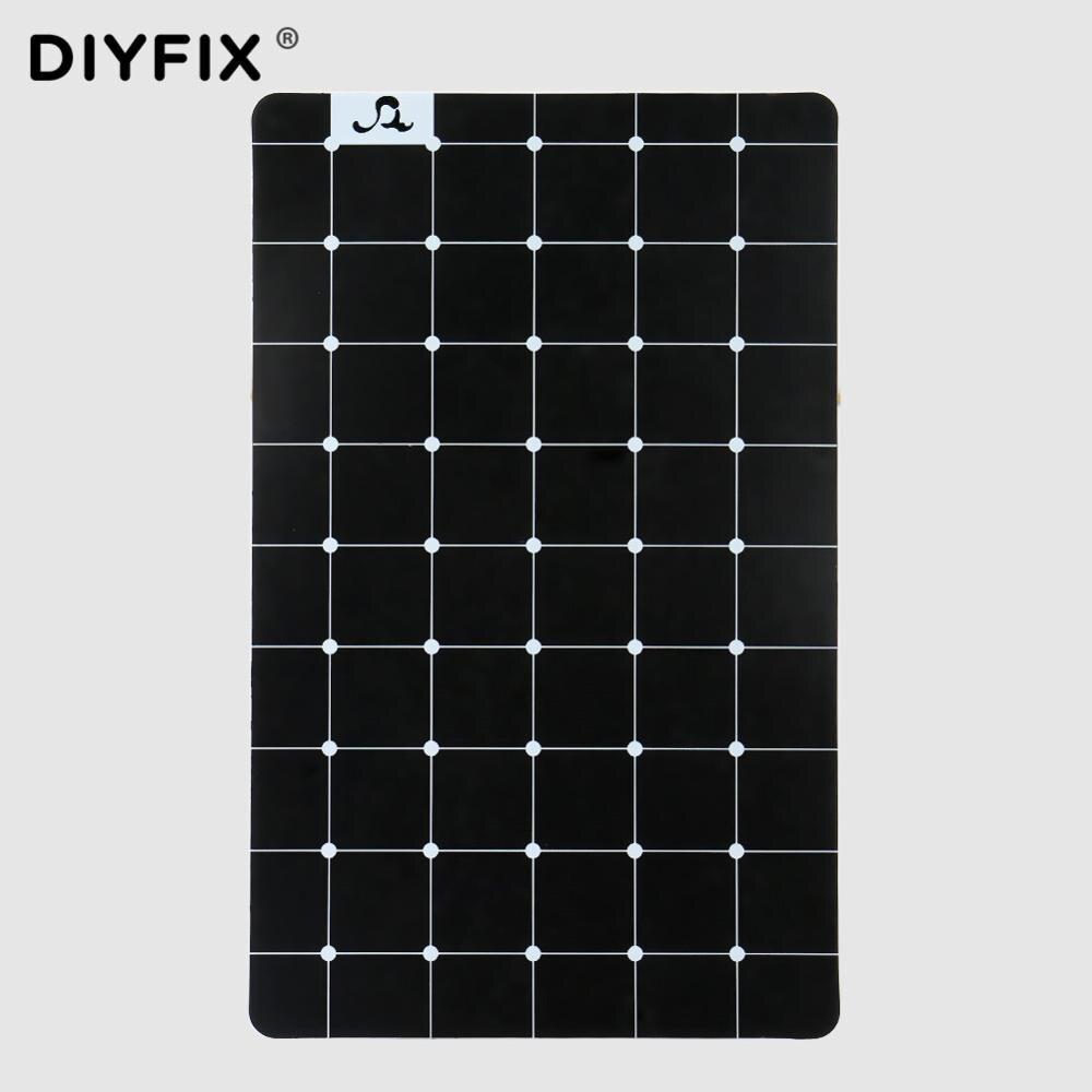 DIYFIX Magnetic Screw Storage Mat Memory Pad Chart Mini Soft Working Pad Mobile Phone Repair Hand Tools