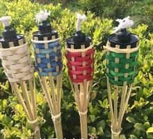 120 cm Outdoor products lamps hiking camping supplies outdoor bamboo torches  kerosene or alcohol lamp freee shipping 4pcs/lot