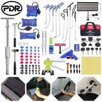 Hastes de PDR Dent Levantador Extrator Ferramentas Kits de Ferramentas de Remoção de Reparação de Granizo PDR Paintless Dent Repair Tool Kit Removedor de Dente para Carros Conjuntos ferramenta manual     -