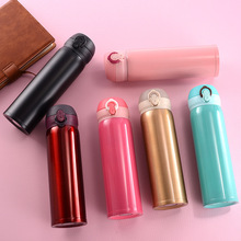 500ml travel cup thermos stainless steel double wall vacuum coffee beverage bottle manufacturers direct sales