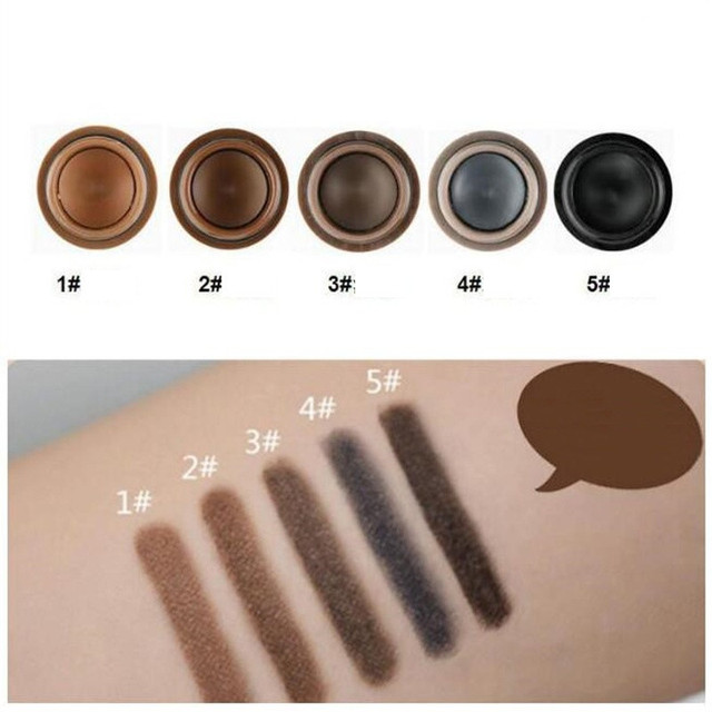 Natural Makeup Eyebrow Pencil Pomade Gel Enhancer Professional Brow Tint Tattoo Paint Cream Wax Waterproof Eyebrow Brush Pen 2