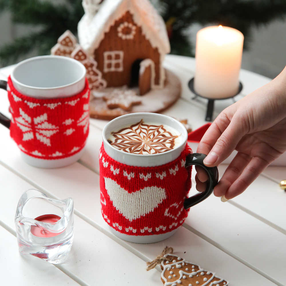 Gingerbread Mug Christmas Tumbler Ginger Bread house Christmas mug Christmas Merry Christmas Glitter Tumbler