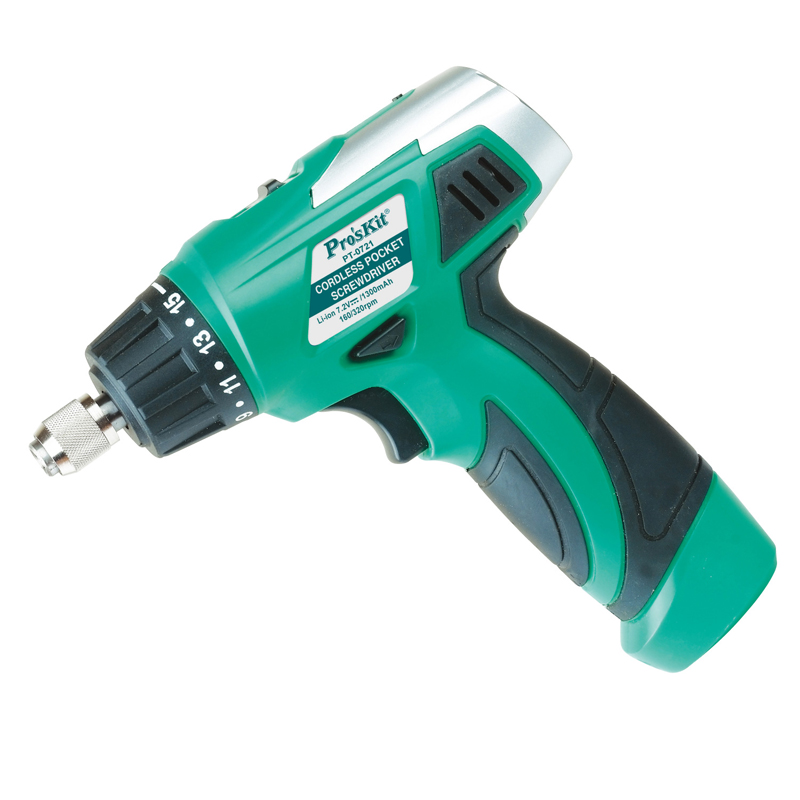 цена на PT-0721G Elecall mini rechargeable Electric Screwdriver 7.2V Lithium Batteray Slotted Multifunction Electric Screwdriver