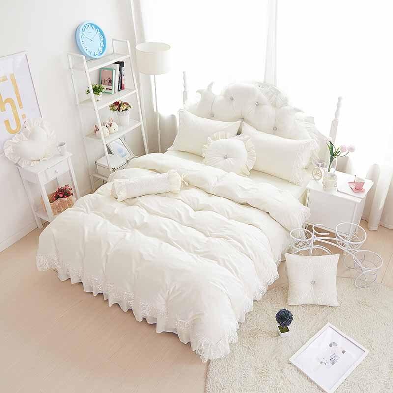 שחור תחרה bedspread נסיכה / שמיכת כיסוי - טקסטיל בית