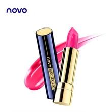 NOVO Lipstick New Sexy Lip Makeup Non-stick cup durable flame lipstick Lip Blam