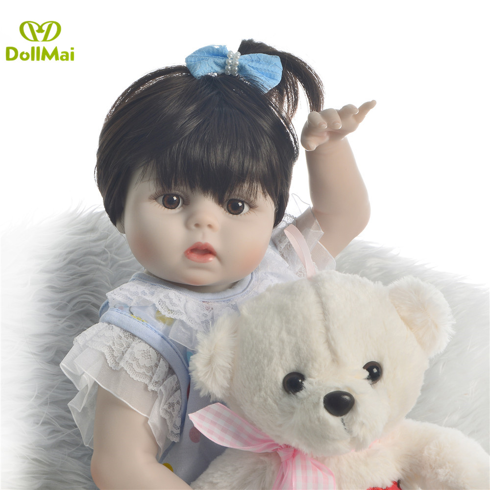 BB Reborn Girl Doll Full Silicone Body Lifelike Bonecas Newborn Princess reborn baby doll Bebe Bathe Toy giftBB Reborn Girl Doll Full Silicone Body Lifelike Bonecas Newborn Princess reborn baby doll Bebe Bathe Toy gift