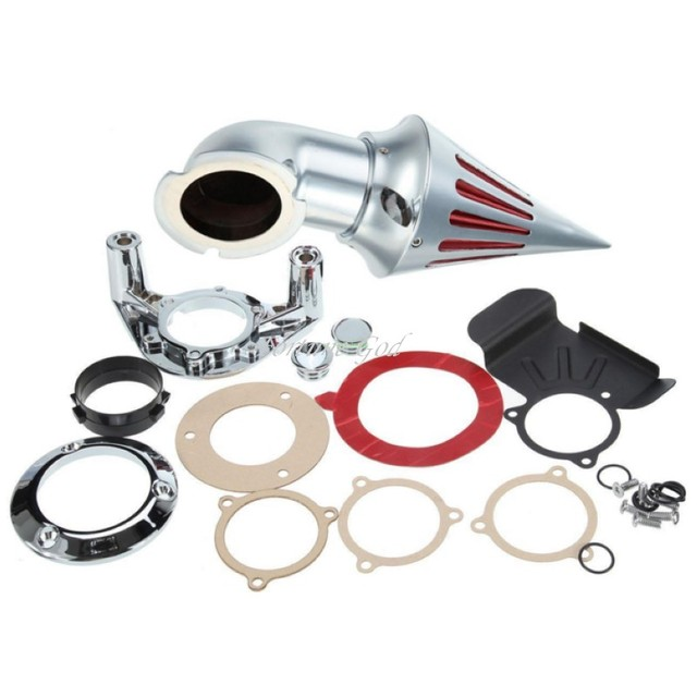 Para Harley Dyna Touring Models 2012 lingotes de alumínio Air Filter Cleaner Intake