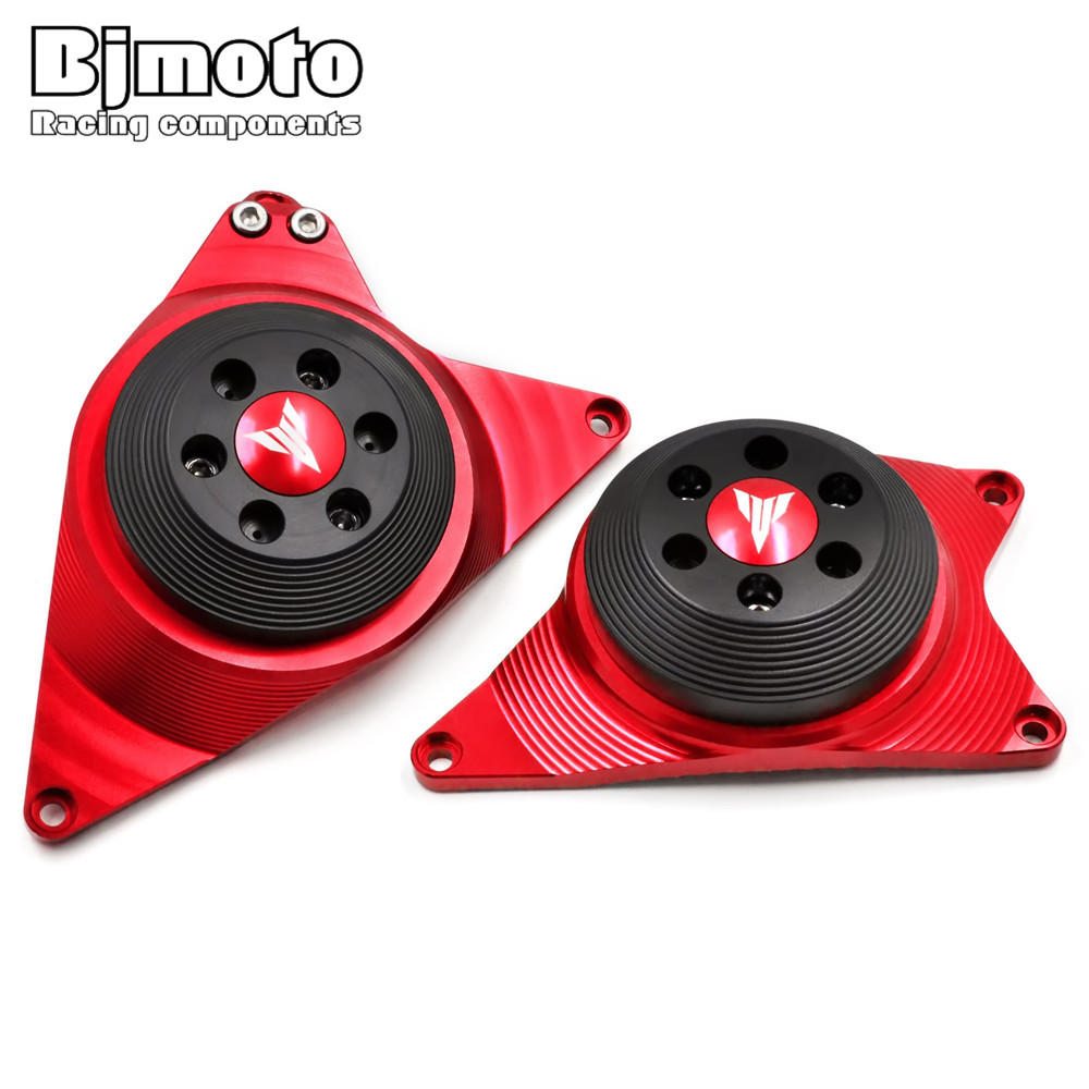 NEW MT-09 MT 09 MT09 tracer FZ09 2013-2017 Engine Guard Protector For Yamaha MT09 Engine Guard Case Slider Cover Protector Set red cnc aluminum engine guard stator case slider cover protector set for yamaha mt 09 fz 09 mt09 fz09 2014 2015 2016