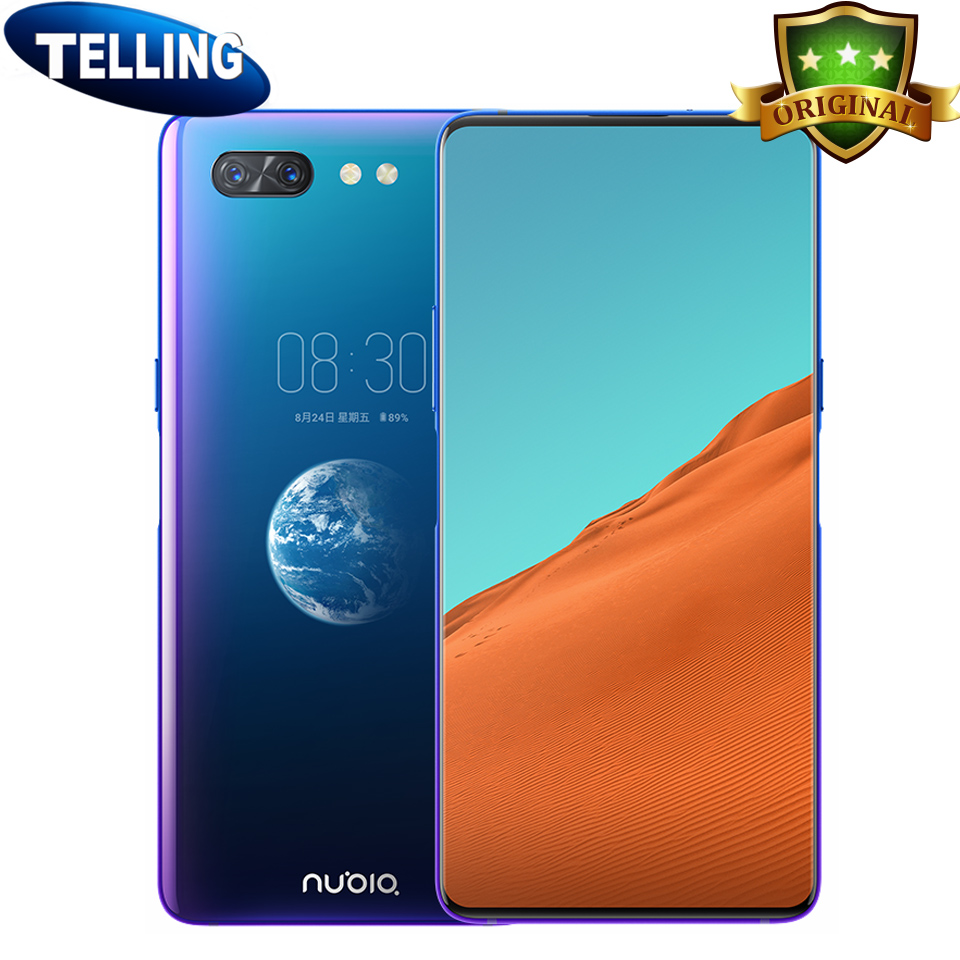 New Original ZTE Nubia X Dual Screen Smartphone Android 8.1 4G LTE Snapdragon 845 Octa Core 8G+128G Shockproof 18W Cellphone