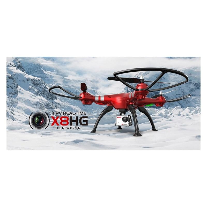 SYMA X8HG RC Drone with Camera 2.4G 4CH 6-Axis RC Quadcopter with 8MP HD Camera RTF Helicopter Headless Mode US Plug/EU Plug