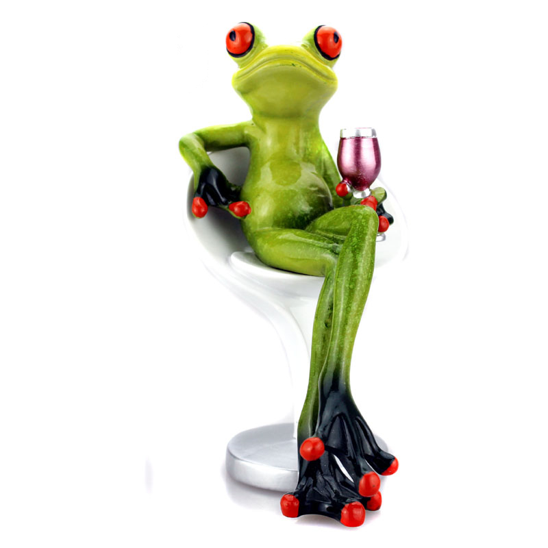 New frogs figurine sexy modern resin home sculpture dolls for Modern new home gifts
