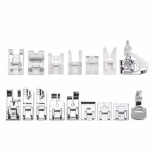 16Pcs Multifunction Sewing Machine Presser Foot Feet Kit Set With Box For Brother Singer Janom Household Sewing Machine цена и фото