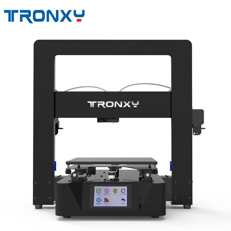 Tronxy X6-2E Double Couleur Impression 3D Imprimante 220*220*210mm Taille Avec Puissance Fonction de Reprise/3.5 pouces Écran Tactile Couleur
