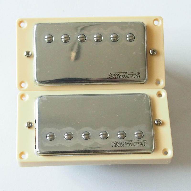 High Quality Guitar Pickup Wilkinson Humbucker Pickups Chrome Cover belcat bass pickup 5 string humbucker double coil pickup guitar parts accessories black