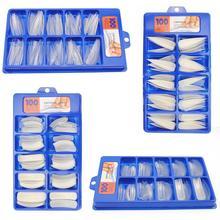 100 шт накладные ногти, художественный клей для ногтей, искусственный дизайн для наращивания ногтей, лаковые наклейки, все для маникюра, волокна