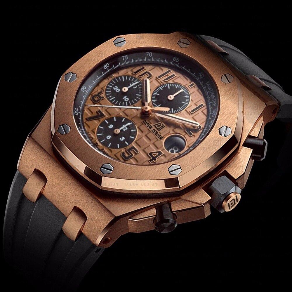 DIDUN men font b Watch b font Top Brand Luxury Quartz font b watch b font