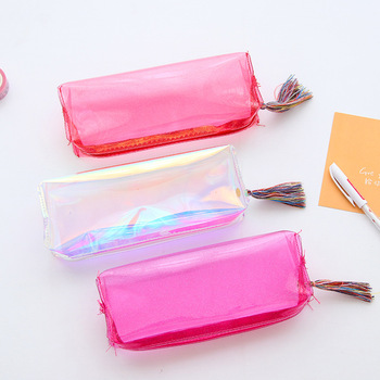 Candy Colors Pencil Box Pencil Cases Office & School Supplies