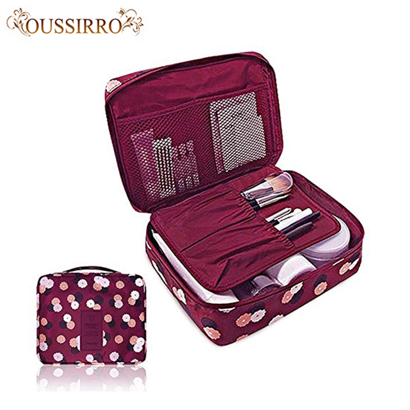 OUSSIRRO Travel Nylon Beauty Makeup Water-proof Cosmetics