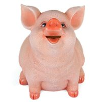 Household items and lovely lucky the pig can save money and good luck piggy bank birthday present children's ornaments Creative