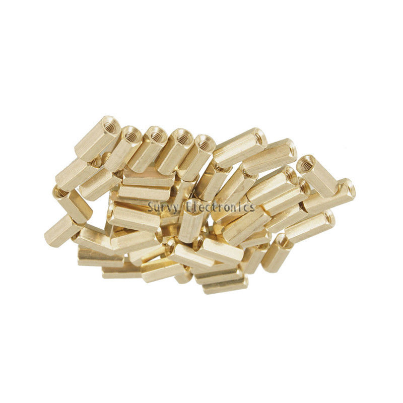 10pcs M3 12 mm Hexagonal net nut Female brass Standoff/Spacer New Good Quality new for ebmpapst a2s130 aa03 01ac220v thermostability cooling fan