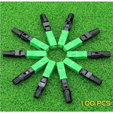 โหมดSC APC Quick FTTH Fiber Optic Fast Connector