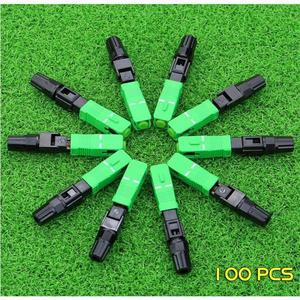 Image 1 - Single mode SC APC Quick FTTH Fiber Optic Fast Connector
