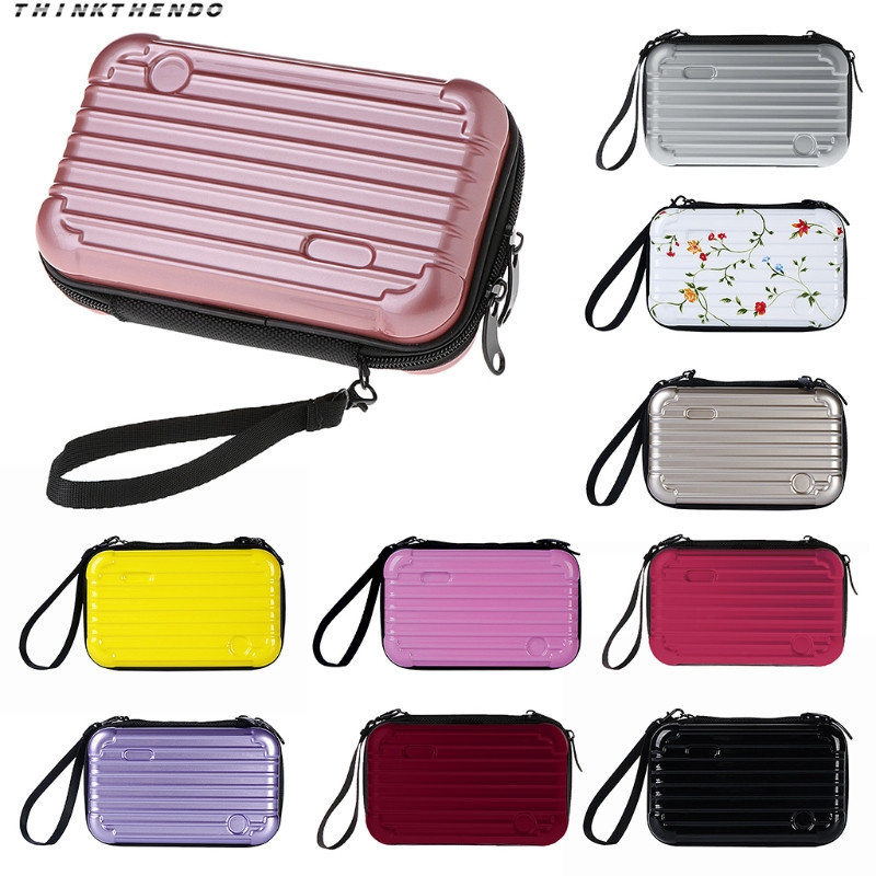 Women's Bags Dutiful Thinkthendo Fashion Women Mini Luggage Makeup Case Lady Girls Female Cosmetic Pouch Bag Toiletry Organizer Handbag New 10 Colors