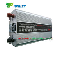 2kw 24V DC to 110V AC 50hz 2000W Modified sine wave inverter with charger and UPS functions