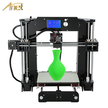 Hot Sale Anet A8 &A6 3D Printer High Precision Reprap Prusa i3 DIY 3D Printer Kit With Free Filament SD Card LCD Hotbed as Gift