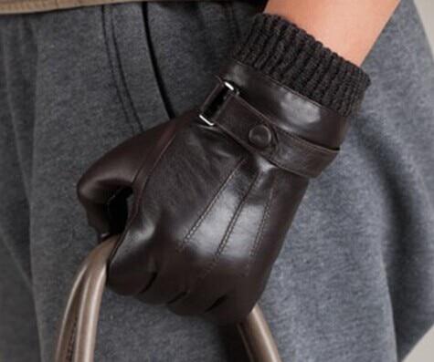 Мужские кожаные перчатки Мужские - Аксессуары для одежды