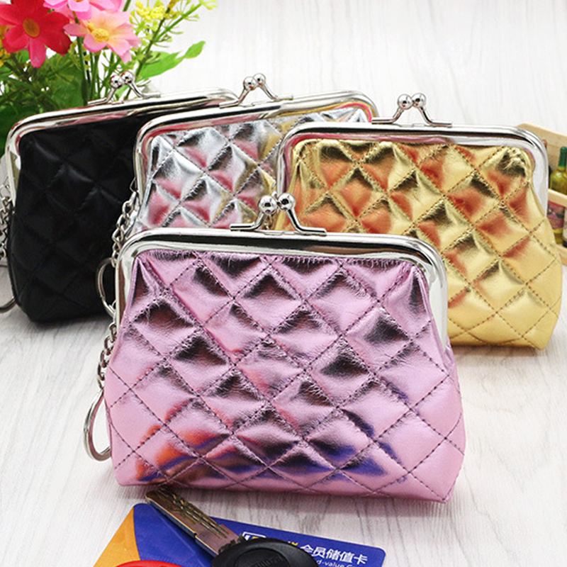 new Ladies Handbags Small Coin Purse Women Purse Leather Wallet Portfolio Female Pouch Wallet Card Holder Mini Clutch Money Bag