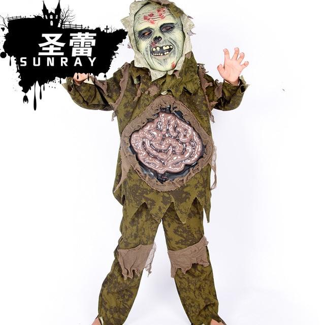 New Halloween Duchang Strange Ghost Scary Costumes Boys/Girls Zombies Children Cosplay Costume Shirt+  sc 1 st  AliExpress.com & New Halloween Duchang Strange Ghost Scary Costumes Boys/Girls ...