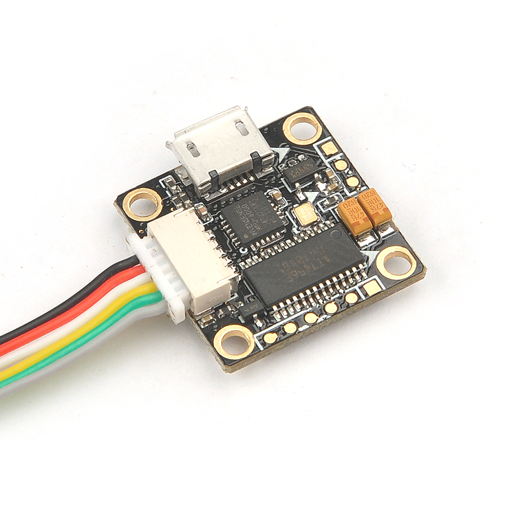 Super_S F4 Flight Controller Board Integrated OSD Built-in 5V BEC for Indoor Brushless FPV Racer Drone Quadcopter