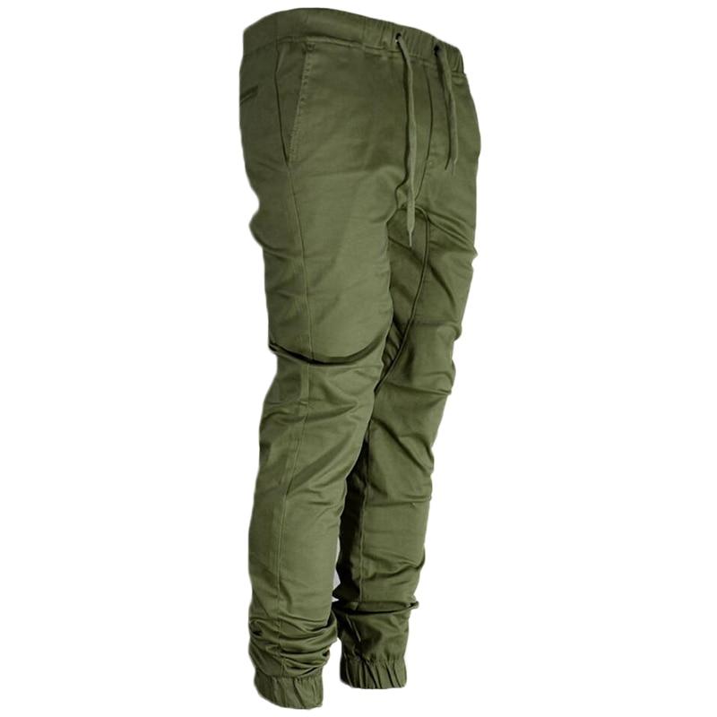 New 2018 Men Cargo Pants Joggers Casual Cotton Compression Fitness Sweatpants Trousers MenS Tactical Sweat Pants Pantalon Homme