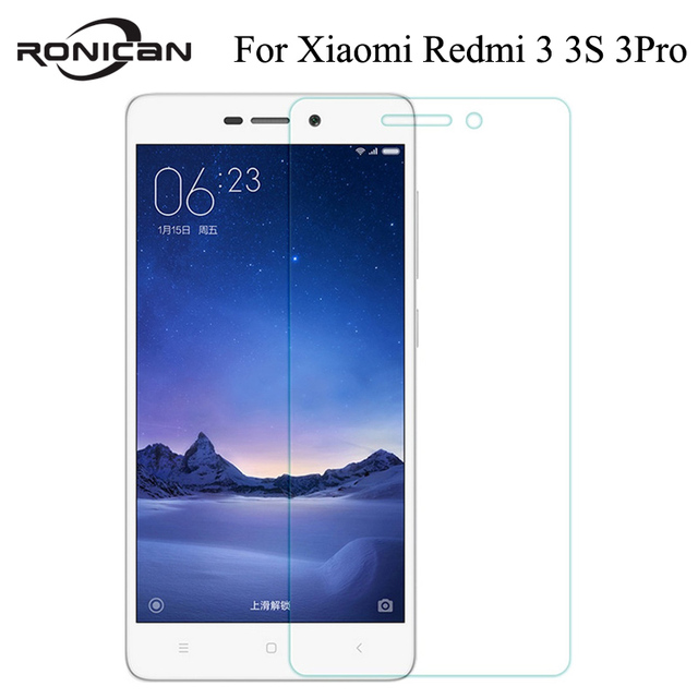 Para Xiaomi redmi 3 S 3 S Prime pro Protector de pantalla de vidrio templado redmi 3 s Protector de película protectora de vidrio pantalla en vidrio redmi 4A