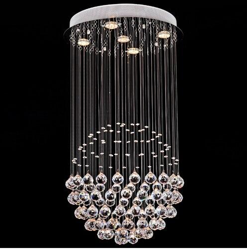 lustre moderno led k araa de cristal de iluminacin de la sala de cocina lmpara de
