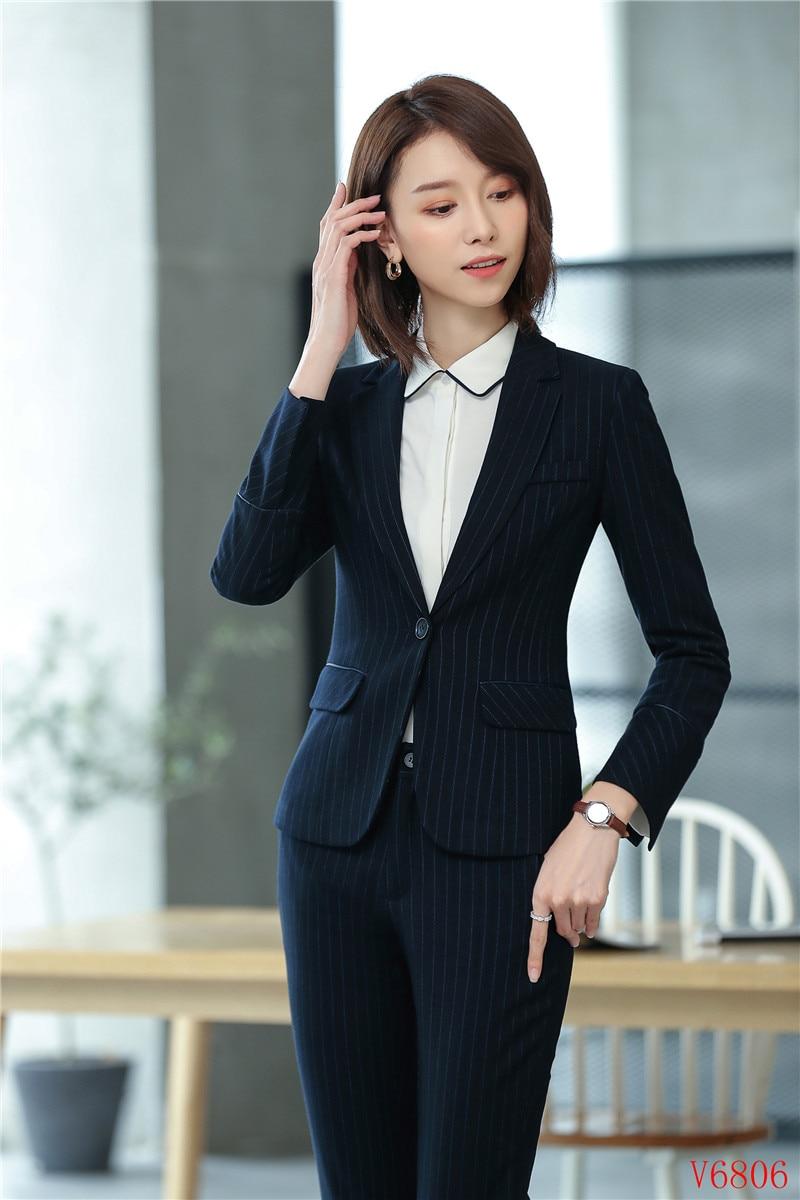 044b25186d8a High Quality Fabric Formal Ladies Blazers Women Jackets Work Wear ...