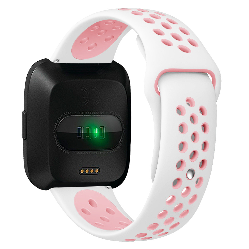 Replacement Silicone Band With Ventilation Holes For Fitbit Ionic Smartwatch