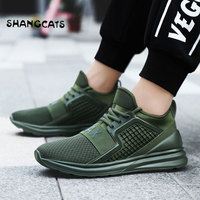 Trend 2018 Running Shoes For Man Black White Sport Shoes Men Sneakers Zapatos corrientes de verano Red chaussure homme de marque