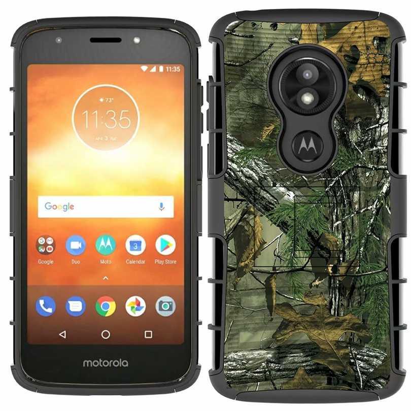 For Motorola Moto E5 E4 E Plus Ring Holder Belt Clip Holster